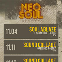 Neo Soul Tuesdays presents Poetic Ave
